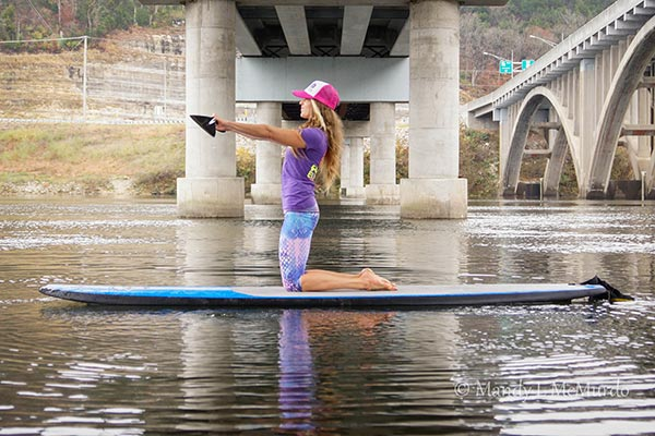 SUP-er Simple Kneeling Core Exercise 1