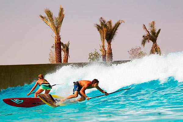 Abu Dhabi opens its arms to the World's best Stand Up Paddlers