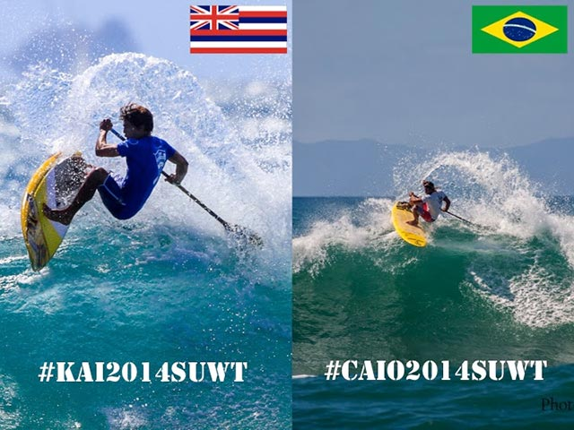 Kai Lenny & Caio Vaz are set a battle for the ages, as it will all come down to France
