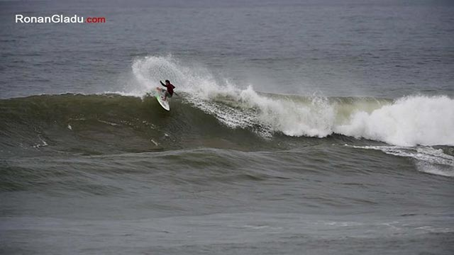 Sean Poynter continues his roll in Morocco with the highest heat score total of the day