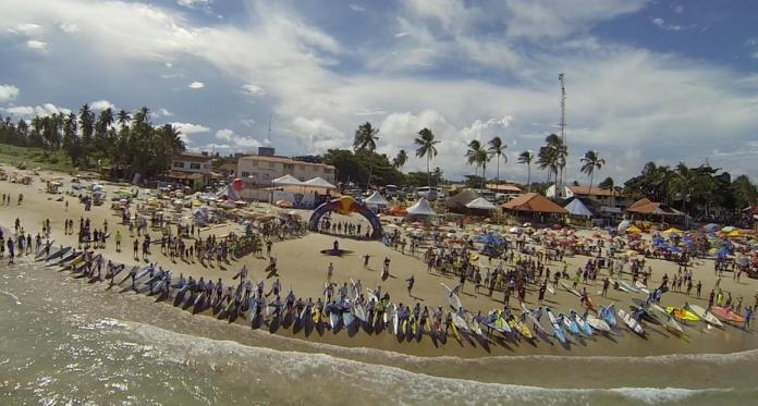 The Sao Paolo Region of Brazil will host the 2015 Grand Slam event featuring World Tour Surfing and World Series Racing in August