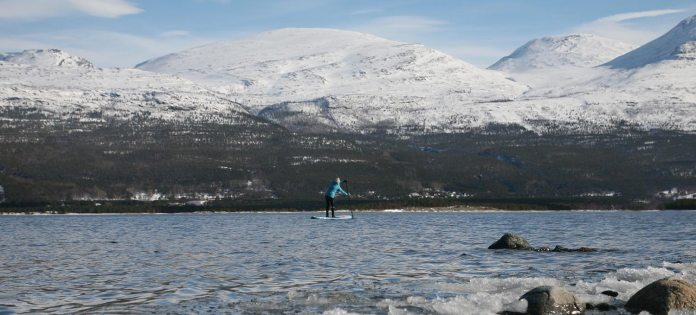 Standup Paddling Above the Arctic Circle feature