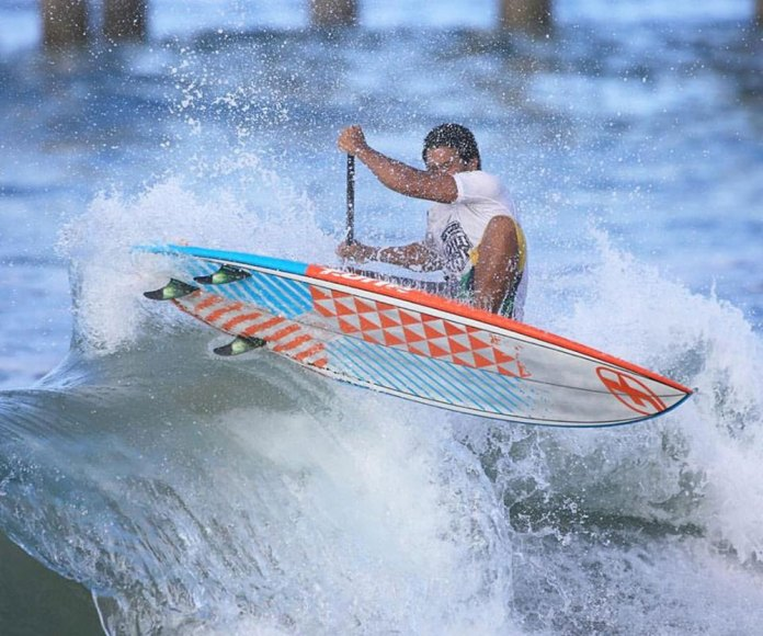 Poenaiki Raioha finishes in 3rd place overall in the World Rankings for 2015 after his win at the US Open of Stand Up Paddling