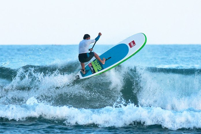 Red Paddle Co Wins Euro SUPA Surf Title With New Surf Design - The Whip