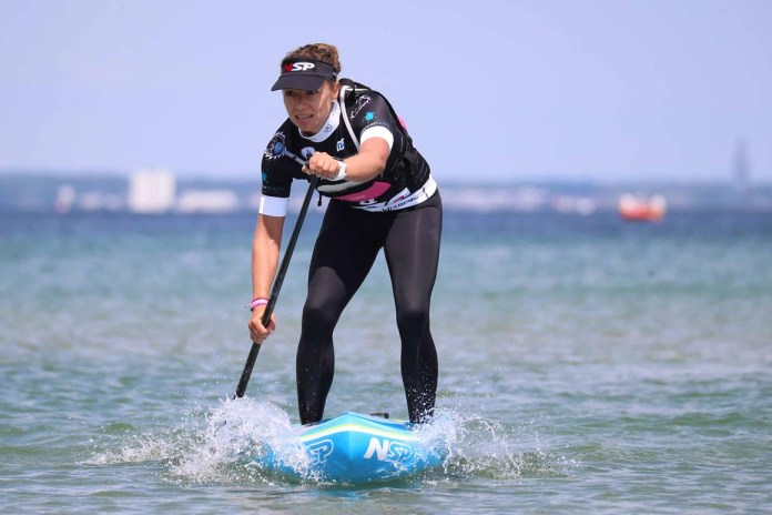 Susanne Lier has proved herself as a major contender with a solid finish on day 2 of the 2016 Stand Up World Series in Germany