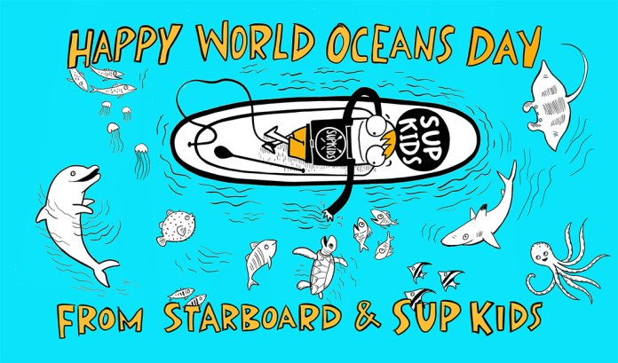 This World Oceans Day sees the official launch of SUPKids, an educational program for 5-12 year olds designed to teach kids SUP, water safety & environmental education.