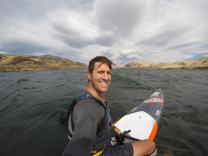 Chase Kosterlitz Columbia River Gorge Downwind Paddling