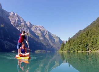 Breathtaking Swiss Mountain Sup Camping Adventure With Fanatic