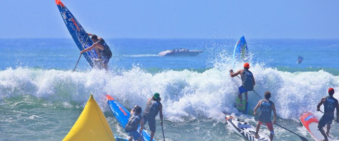 The Pacific Paddle Games Wrap Up: The Doheny Hammer Takes Its Toll!