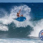 Zane Schweitzer wins the Open Stand Up Paddlesurfing Exhibition at Ho'okipa with a mind bending display of performance surfing