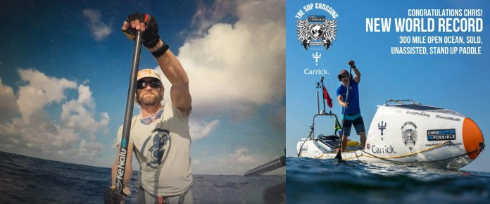 Chris Bertish new world record thesupcrossing