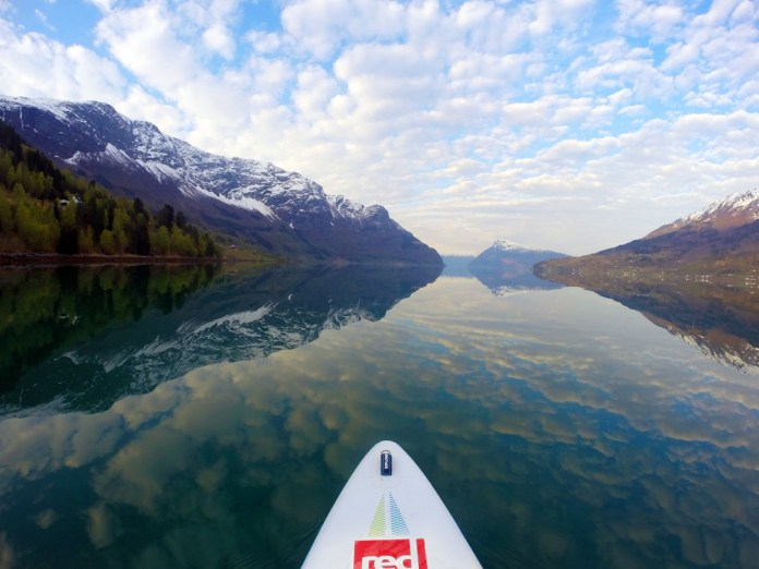 Sognefjord, Norway with Titus Kodzoman, Red Paddle Explorer