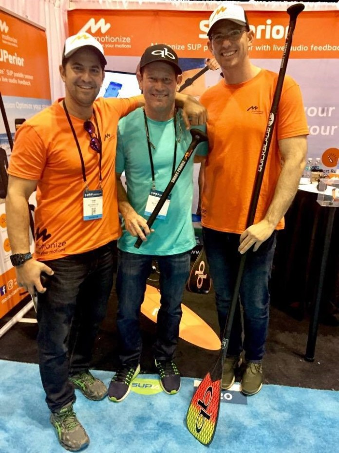 Jimmy Terrell Motionize Smart Paddle Surf Expo 2017