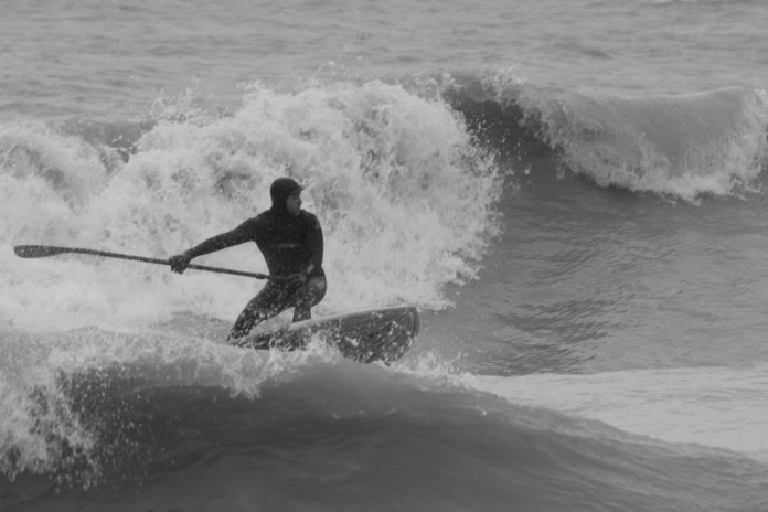 Ian Jacobson Chicago SUP great lakes surfing