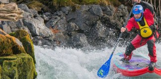 Paul Clark Kialoa safety tips river sup banner