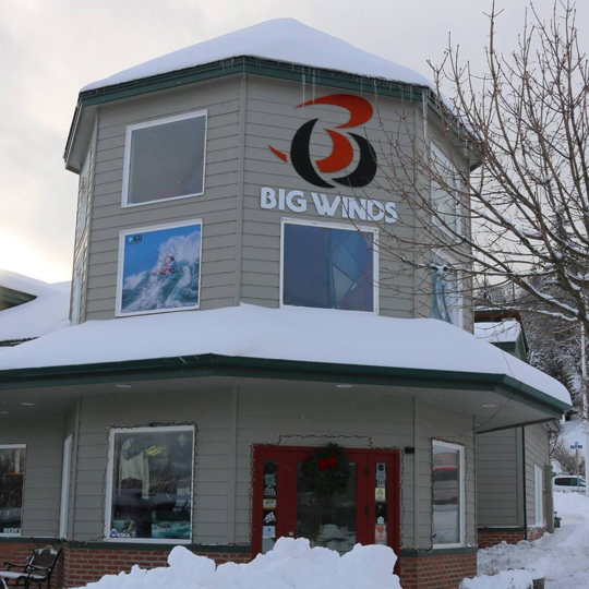 Big Winds says: You can paddle all year long!
