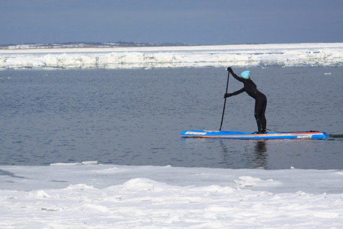 Winter paddling tips Evelyn ODoherty Kevin Ahearn