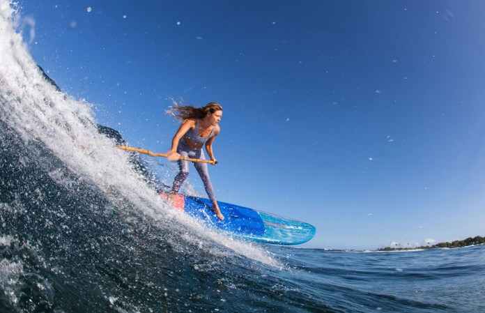 Donica Shouse Starboard Nut Paddle Hawaii