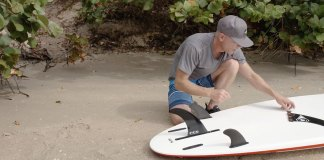 How to Install Fins On Your Stand Up Paddleboard