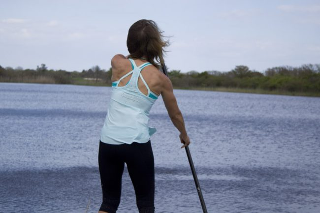 Muv Strong dry land strength training stand up paddling