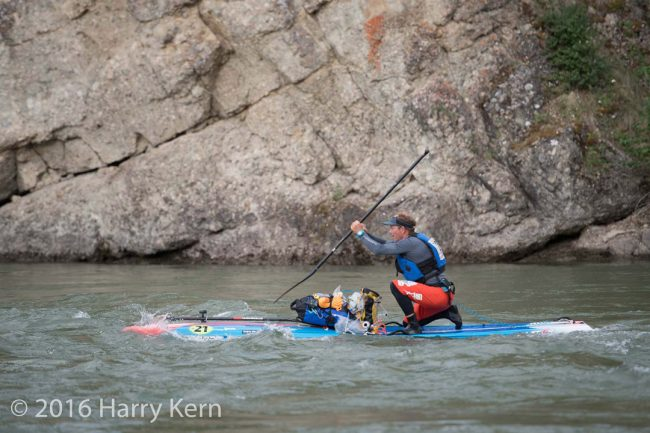 Yukon River Quest Starboard Bart de Zwart photo Harry Kern