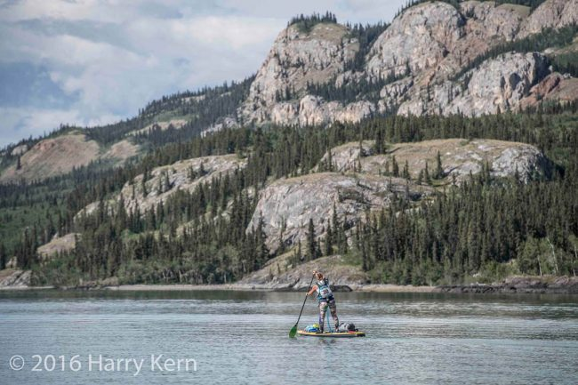 Yukon River Quest landscape photo Harry Kern