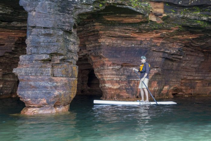 Bryce Haack Wisconsin cave sup