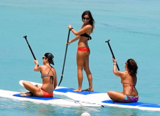 Paddle Barbados Sarah Cole Retreat stand up paddle