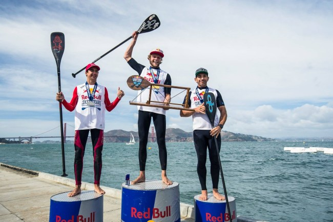 Red Bull Heavy Water winners Casper Steinfath Ryan Funk Travis Grant