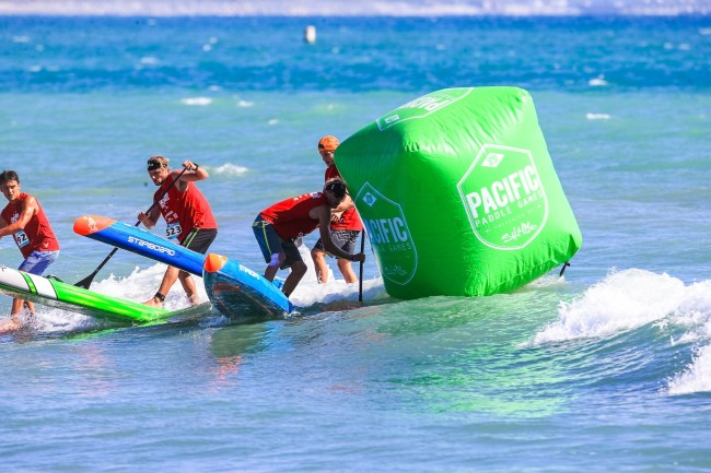Connor Baxter Lincoln Dews Michael Booth Hammer Buoy Pacific Paddle Games 2017
