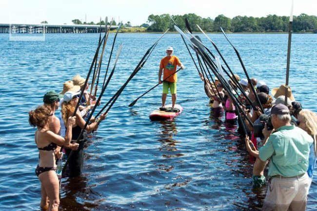 World Paddle for the Planet Bob Purdy 2