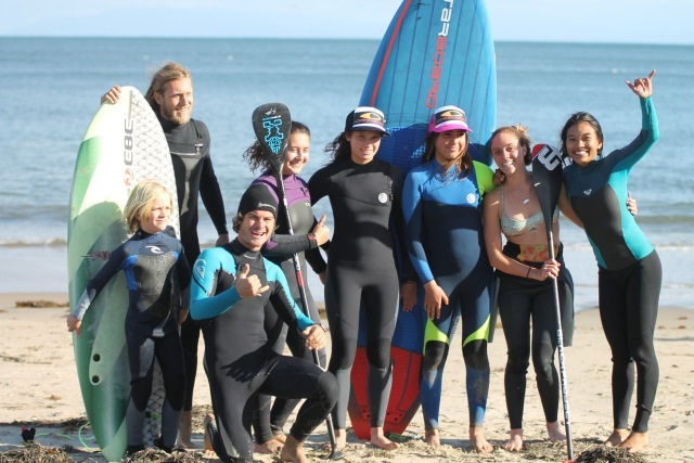 Super grom clinic santa cruz paddle fest