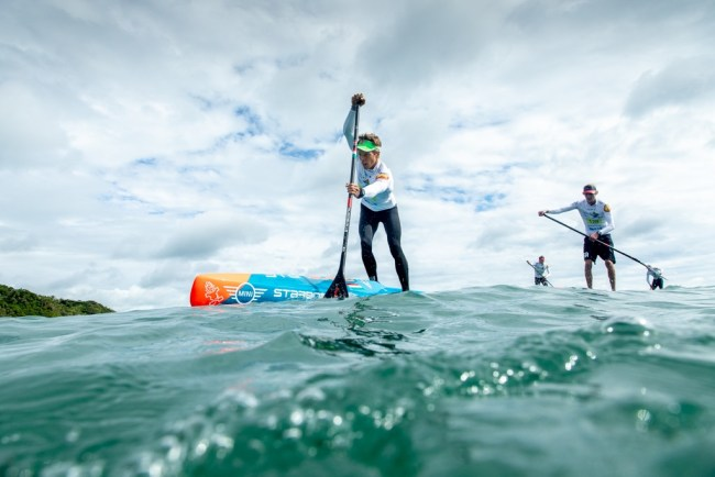 Daniel Hasulyo Tech champion ISA World Championship SUP