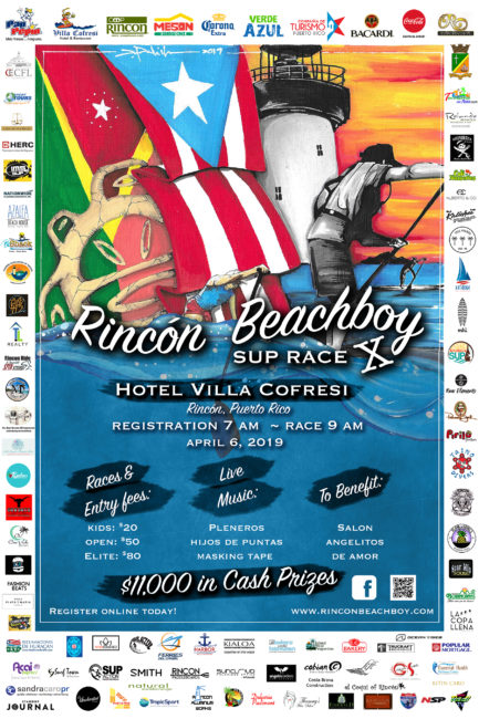 Rincon Beach Boy Puerto Rico Stand Up Paddle Race