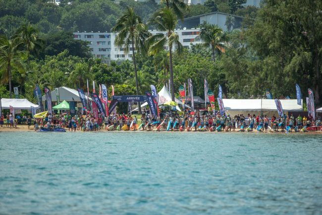 The Paddle League Air France Paddle Festival Tahiti