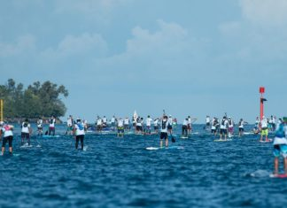 Air France Paddle Festival Tim McKenna Photography race start