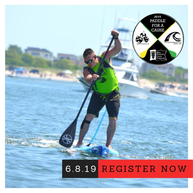Dean Randazzo Paddle for a Cause cancer new jersey
