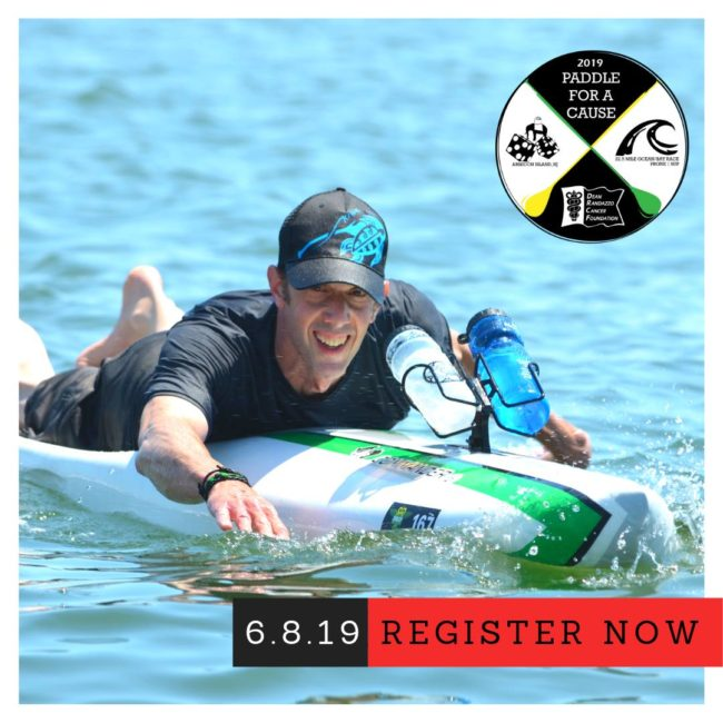 Dean Randazzo Cancer Foundation Paddle for a Cause stand up padddle prone paddle new jersey