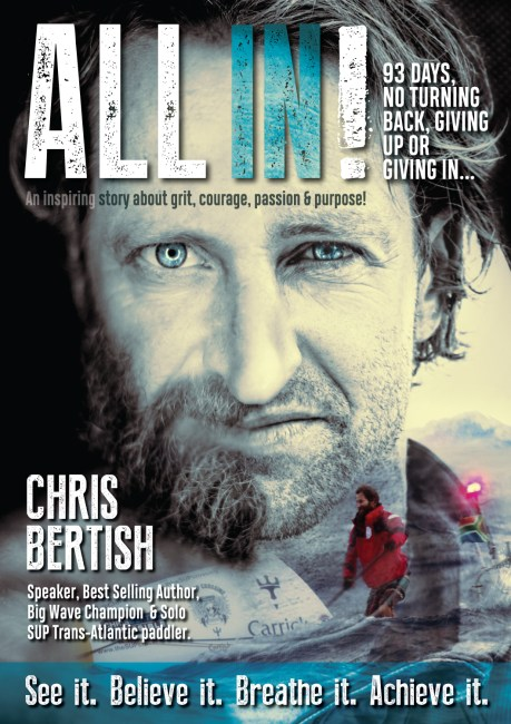 Chris Bertish ALL IN cover