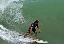 Fernando Stalla Mexican Pipeline Pan American Games Rogue SUP