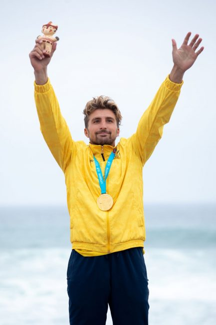 Giorgio Gomez Infinity SUP Pan American Games gold medal