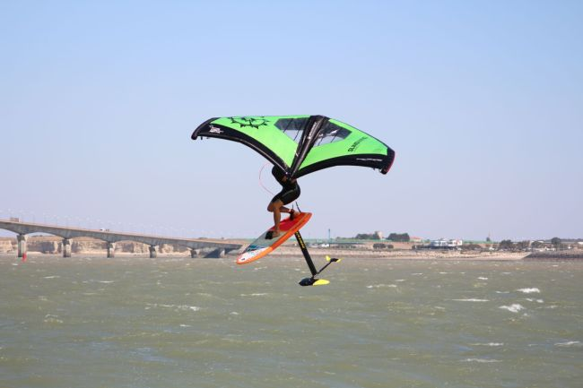 Julien Boyer Naish Wing foil