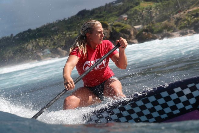 Izzi Gomez infinity SUP APP World Tour