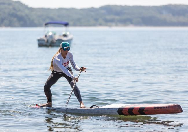 Candice Appleby Infinity SUP foot clinics