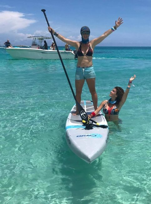 Chloe Catherine Dubois Bahamas Crossing for Cystic Fibrosis Pipers Angels