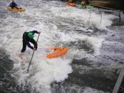 UK river SUP Dave Adams