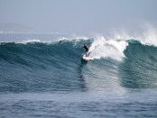 Rob Small SUP surfing