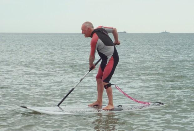 Stan Wheeler SUP s Hayling Island