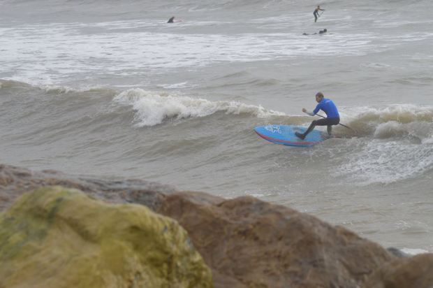 Ollie Shilston ripping at Highcliffe