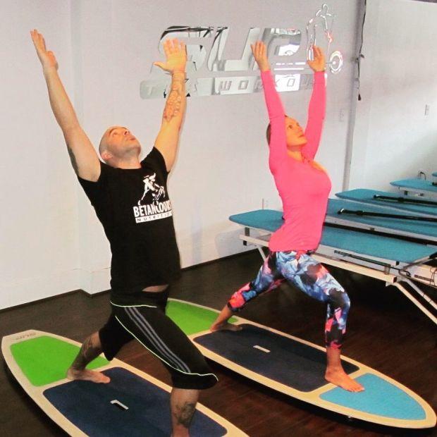 SUPtheworkout Yoga